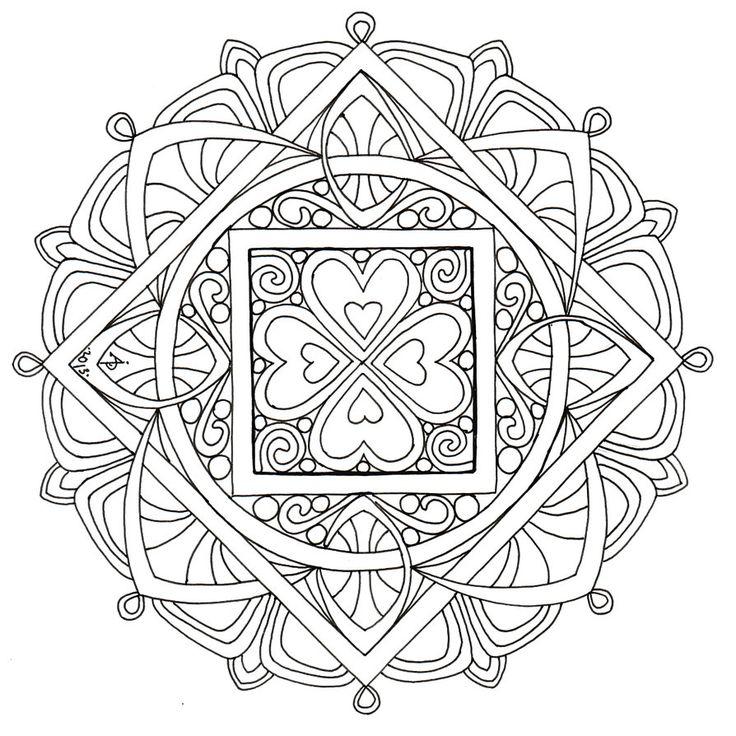 desenho de mandala para pintar                                                                                                                                                      Mais