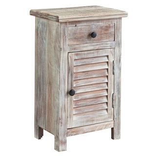 Shop for Signature Design by Ashley Charlowe White Wash Night Stand. Get free shipping at Overstock.com - Your Online Furniture Outlet Store! Get 5% in rewards with Club O!
