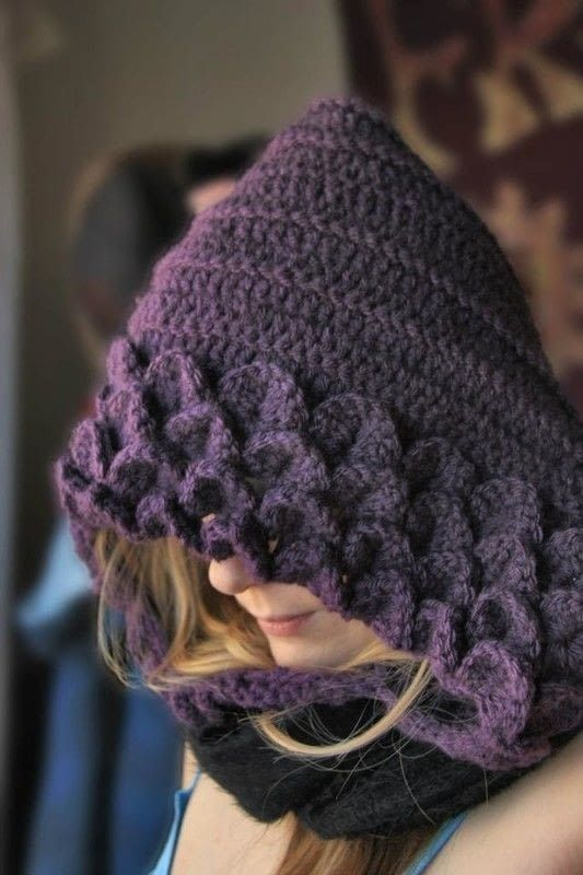 Free Crochet Pattern Crocodile Stitch Hat ~ Dancox for .