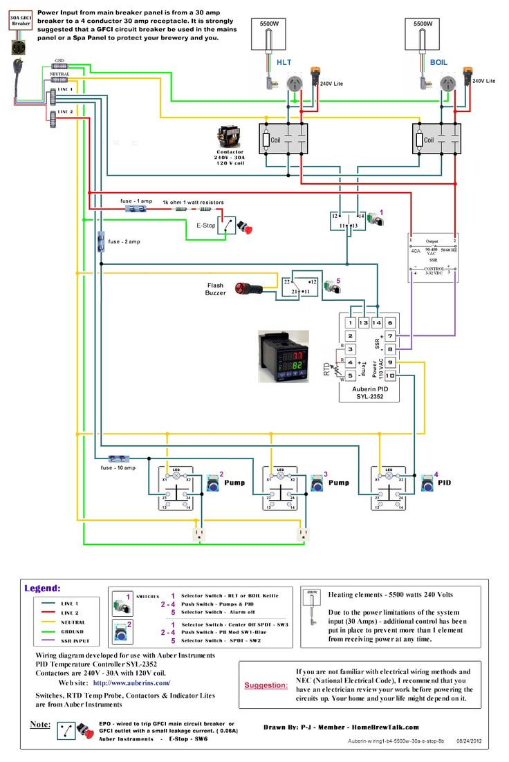 220v 30a Wiring Diagram Help - Page 2 - Home Brew Forums