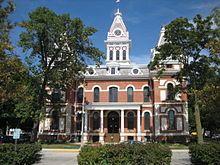 Pontiac IL Livingston County Courthouse5.JPG