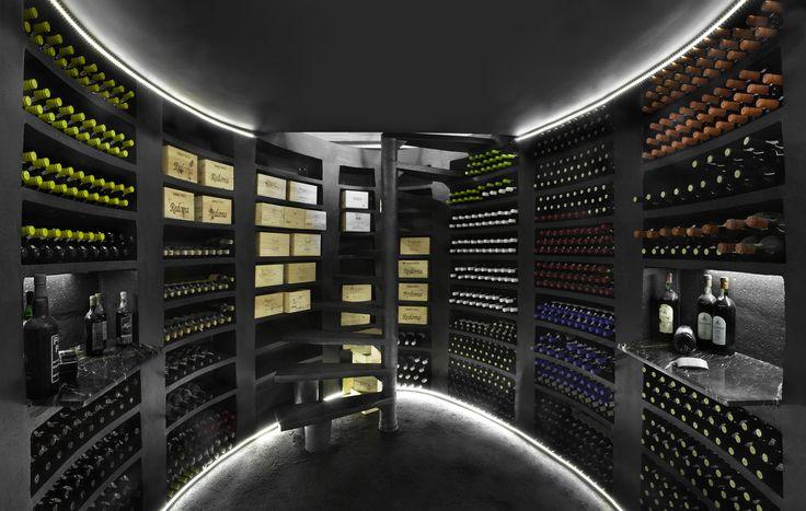 Piwnica pasywna na wino- seria Maxi Ovale
