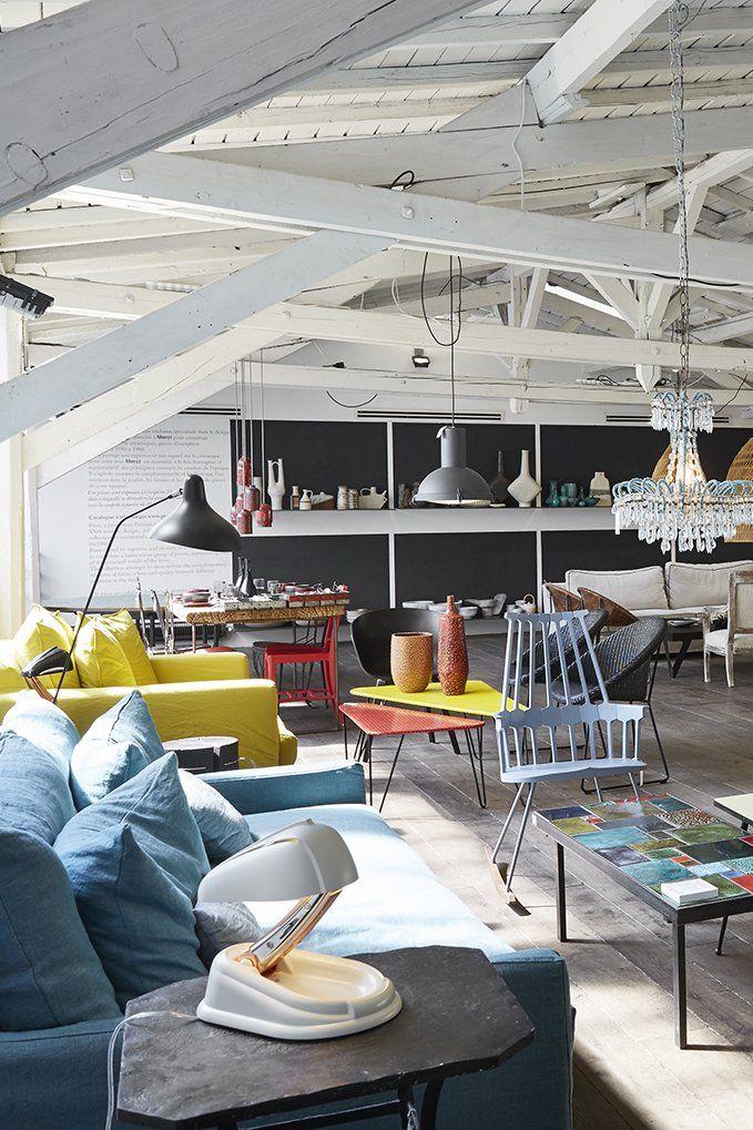 Les Concept Stores Les Plus Deco De Paris Deco Design Bar Restaurant Concept Store