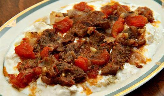 Patlıcan Ezmeli Et Tarifi / Marifetlitarifler'den yemek tarifleri