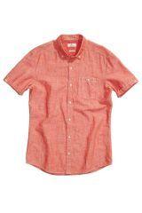 Textured Linen Blend Shirt - Next