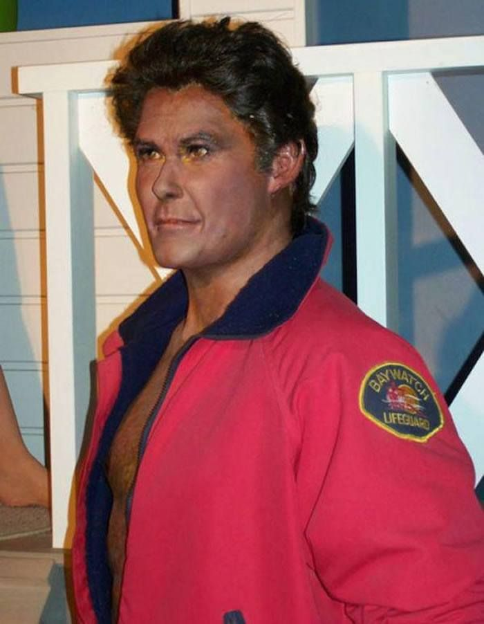 David Hasselhoff  The 18 Most Bizarre And Scary Celebrity Waxworks You'll Ever See • Page 4 of 5 • BoredBug