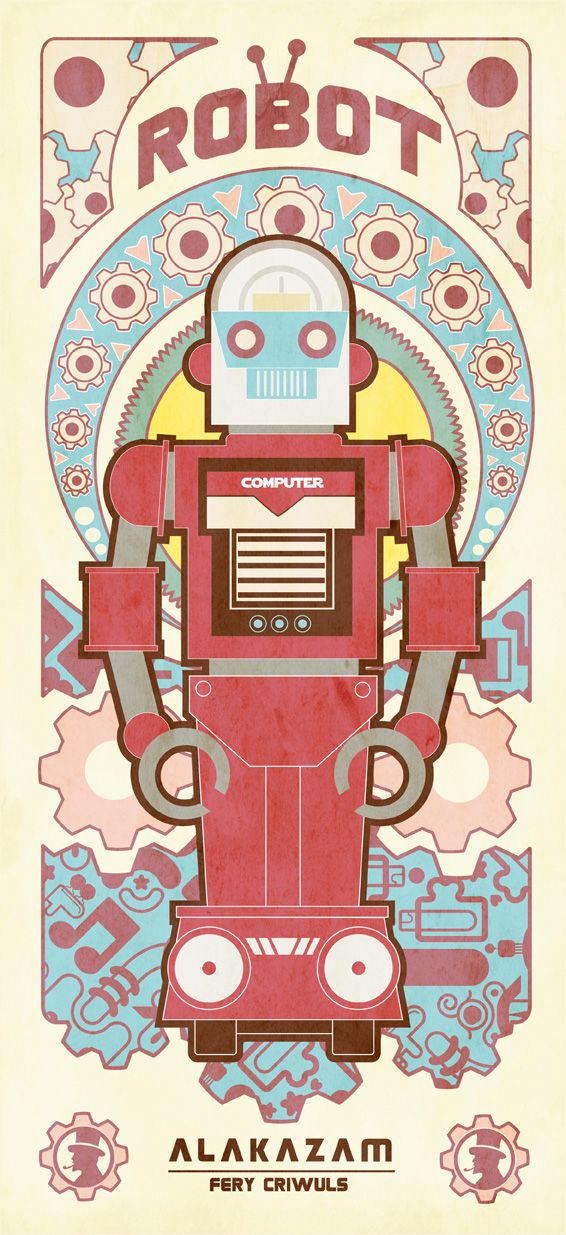 VINTAGE ROBOT SERIES 1 by reefboys.deviantart.com on @deviantART