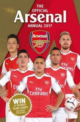 The Official Arsenal Annual 2017 is packed with a host of quizzes features and pictures- an indispensable Gunners guide. Celebrating the best of Arsenal Football Club the Annual includes: player profiles stats and facts and a review of the season.