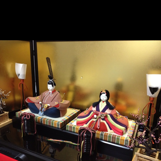 Japanese Hina Dolls (Couple)
