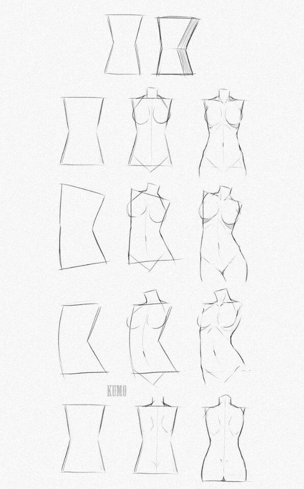 How to draw body's