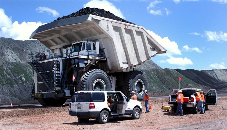 A truck with Westech's Flow Control Body holds 447 tons of coal at Peabody Energy's North Antelope Rochelle coal mine, north of Douglas, Wyo. Guinness World Records recently awarded the body's manufacturer, Mills-based Westech, a certificate for its custom-built unit designed for a Wyoming mine.