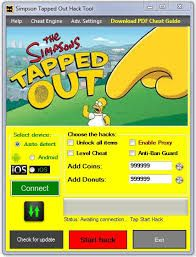 the simpsons tapped out hack android 2018