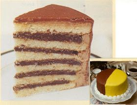 Best 25 Doberge cake ideas on Pinterest Two layer cakes