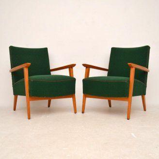 Pair of retro armchairs for sale retro furniture for sale London | retrospectiveinteriors.com