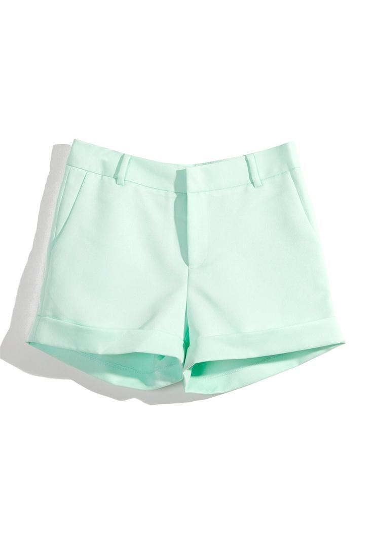 Mint ShortsChicwish Mint, Mint Shorts, Summer Outfit, Fashion Style, Closets, Clothing, Shorts Prom Dresses, Colors Shorts, Unique Fashion