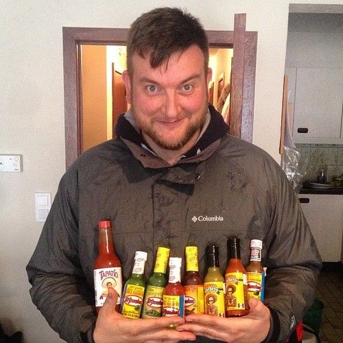 Happy customer! #hotsauce #hotsaucecommittee @Tapatío Hot Sauce @gringobandito @elyucateco_hotsauce @koenxkoen (at Hot Sauce Committee)