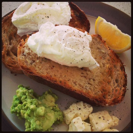 Poached Eggs, Thermomix Style