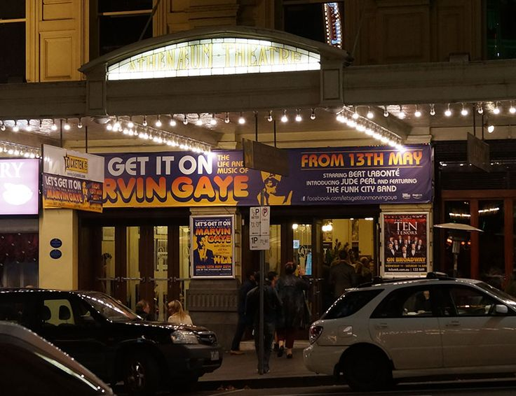 The Athenaeum, Marvin Gaye, Theatre Banners