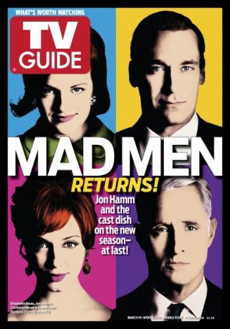 TV Guide, Mad Men returns!