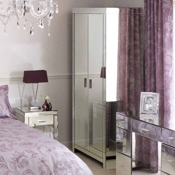 purple bedroom with black furniture venetian mirrored furniture purple modern bedroom for 19553