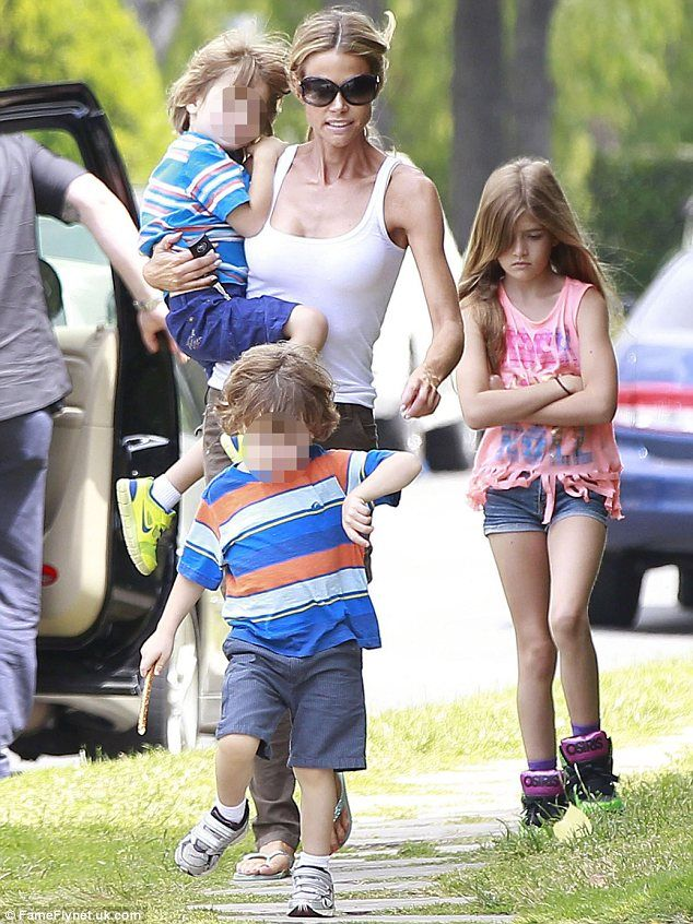 Denise Richards to give up custody of Charlie Sheen's 'violent twins after they attacked her daughters in disturbing outbursts and tortured ...