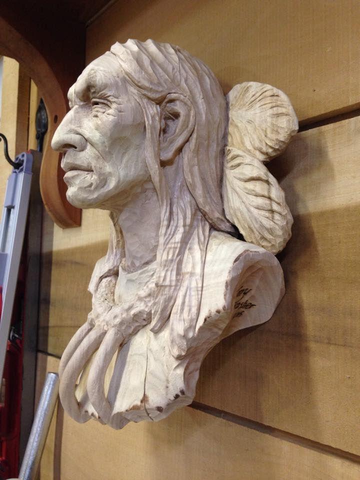 Best western carvings cowboys native americans
