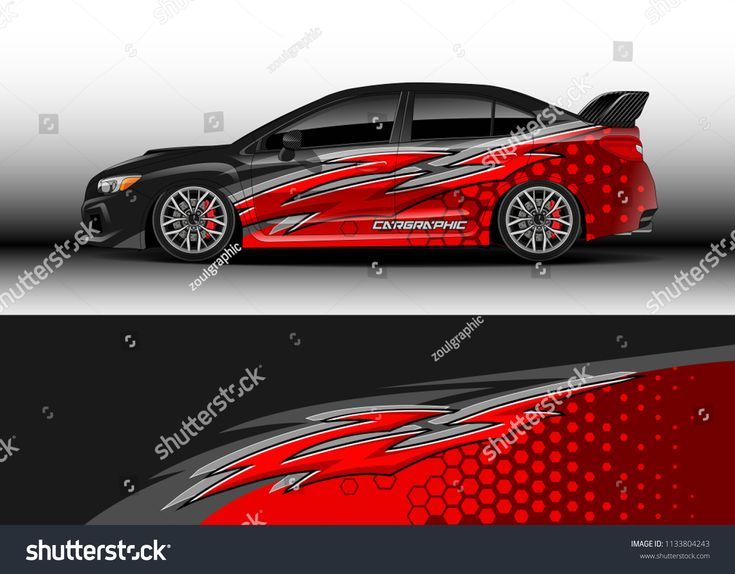 Car Decal Graphic Vector Wrap Vinyl Sticker Graphic
