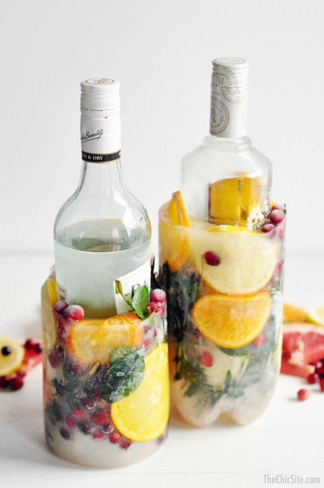 Impress your friends with these amazing wine ice buckets at your next summer party