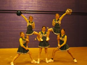 Stunts for Jr High to Try                                                       …