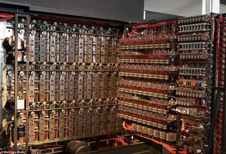 Turing Bombe machine code breaker