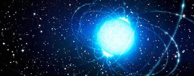 Magnetares, megaestrellas con un fenomenal campo magnético que las convierte en los imanes más potentes del Universo.