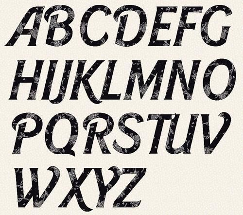 alphabet barbie font 2 inch template papers and letters