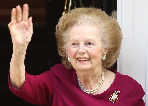 Margaret Thatcher Photo - Margaret Thatcher Leaves The Cromwell Hospital After A Recent Bout Of Flu