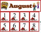 Free August Calendar Set from TPT C and L Curriculum