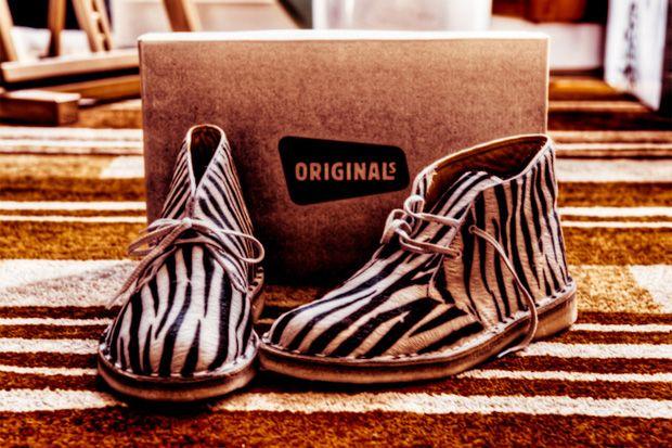 Clark's zebra print