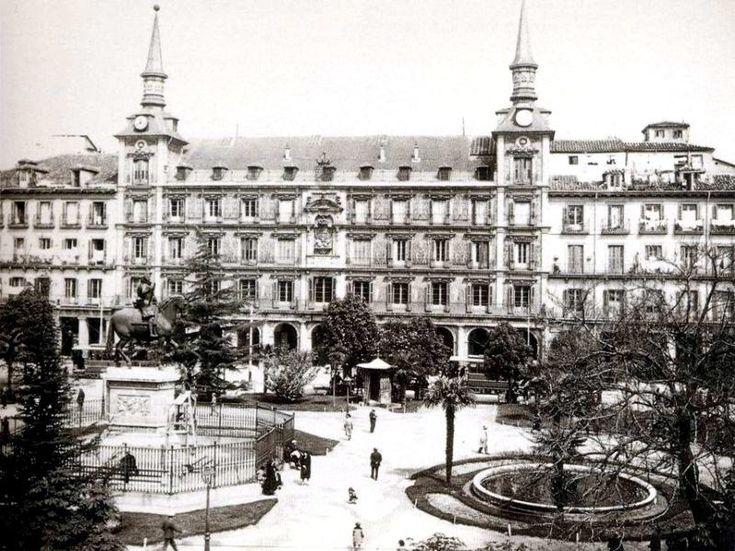 Plaza Mayor en 1919