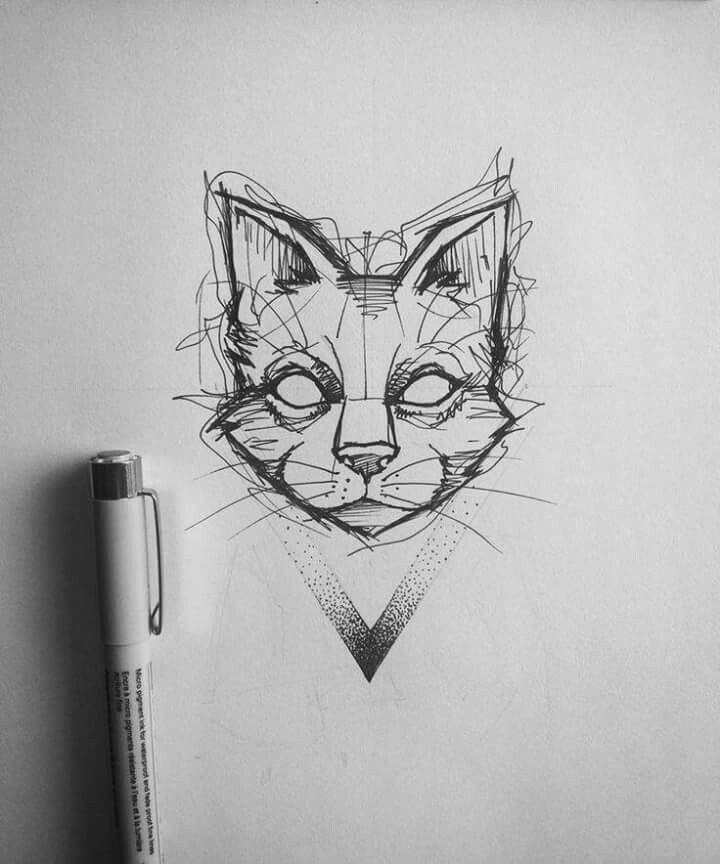 Cat tatoo idea