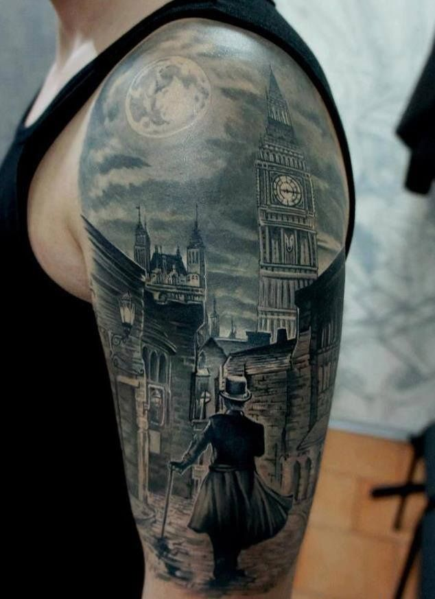 Kind of a neat idea. I dont think I have ever seen a tatt like this before.