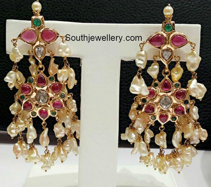 Guttapusalu Necklace and Earrings Set