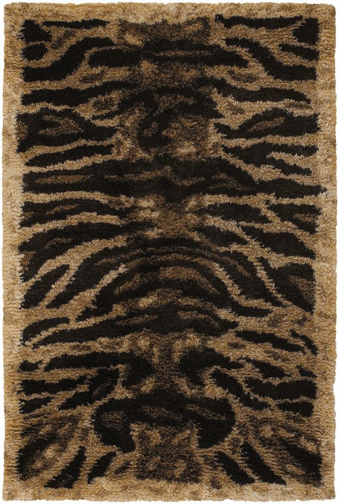 Ikat Rug Chandra Rugs Amazon Collection AMA Beige Tiger Area Rug Hand woven Contemporary