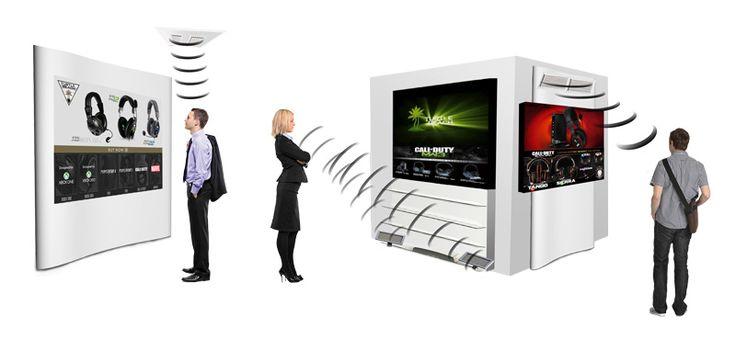 L' HyperSound HSS3000 également appelé « haut-parleur directionnel sur porteuse ultrasonique » est une déclinaison contemporaine du système breveté HyperSonic Sound®. La technologie HSS a d'ailleurs reçu le « Label de l'innovation muséographique »...