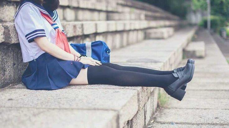 세라복 소녀