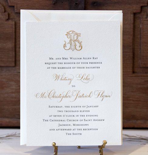 17 Best Ideas About Monogram Wedding Invitations On