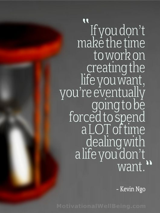 It's not too late to create the life you want...