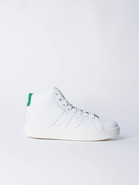 official photos d681f 44656 APLACE Stan Smith Bold Mid W Green - Adidas Originals  Womens Sneakers   Pinterest  Stan smith, Bald hairstyles and Adidas