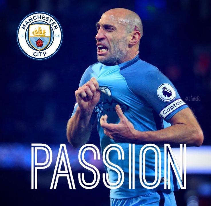 Passion = Pablo Zabaleta #mcfc #manchester