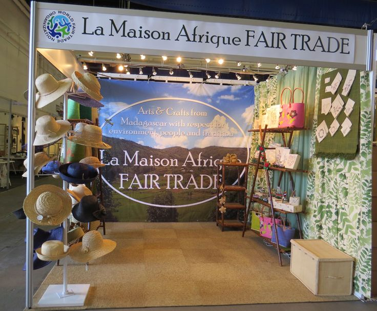 La Maison Afrique FAIR TRADE stand at Formex, Stockholm International fairs 13-16 August 2014