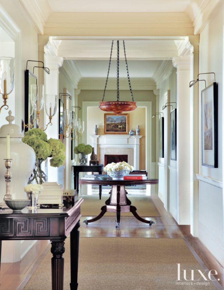 Eclectic White Hallway 161 best Luxe