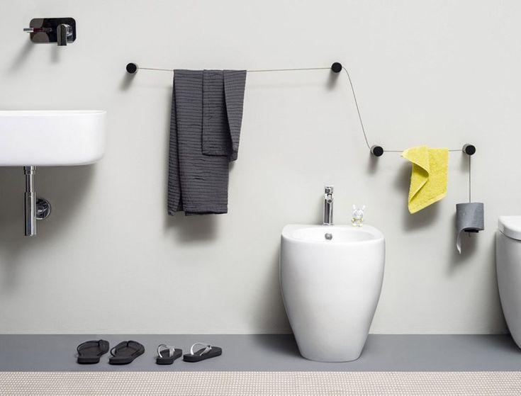 Oltre 20 migliori idee su porta asciugamani su pinterest - Porta asciugamani fai da te ...