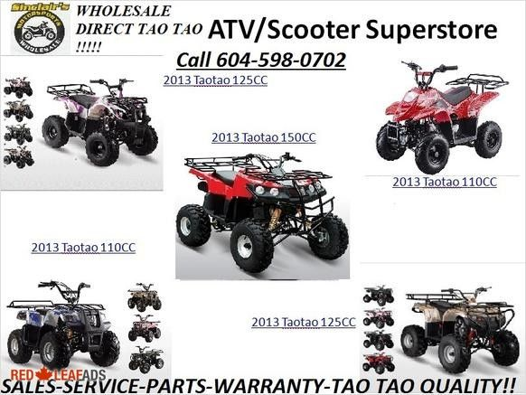 WE HAVE THE RIGHT ATV FOR YOU TO FIT YOUR NEEDS AND YOUR BUDGET WE HAVE THE RIGHT ATV FOR YOU TO FIT YOUR NEEDS AND YOUR BUDGET. SINCLAIR'S MOTORSPORTS SAVES YOU AN AVERAGE OF ...
